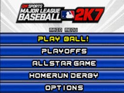 2K Sports - Major League Baseball 2K7 Title Screen